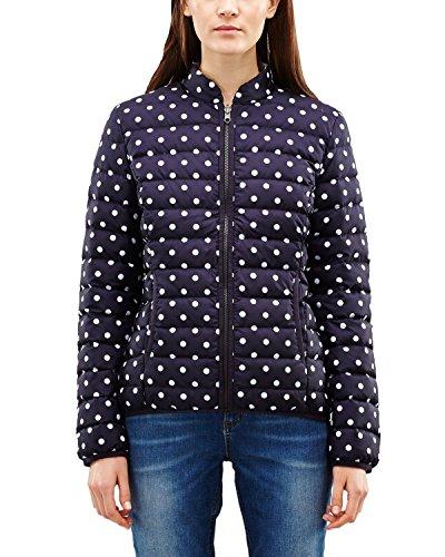 comma Damen 8T.601.51.3903 Jacke, Blau (Blue dots 59M1), 36