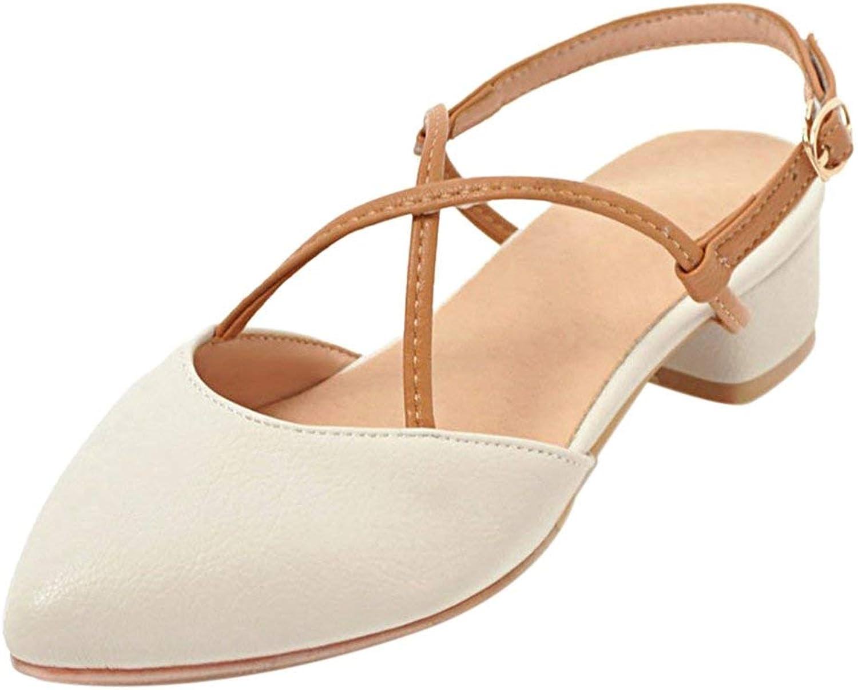 Unm Women Fashion Slingback Sandals