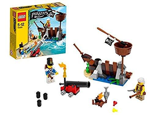 Lego Pirates - 70409 - Jeu De Construction - La Défense du Radeau
