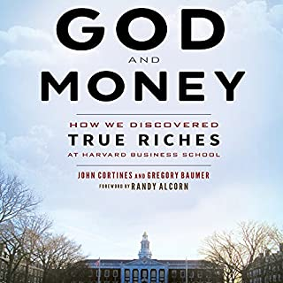 God and Money audiobook cover art