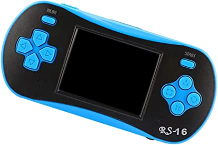 kesoto 2.5 Inch Portable Handheld Console Classic Video Game Player for Kids, Blue