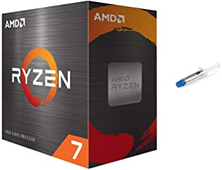 AMD-Ryzen 7 5800X 4th Gen 8-core Desktop Processor Without Cooler, 16-Threads Unlocked, 3.8 GHz Up to 4.7 GHz, Socket AM4,...