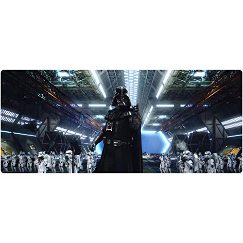 Gaming Mouse Pad XXL Large Mouse Mat Star Wars Keyboard Mat Extended Mousepad for Computer Desktop PC Laptop Mouse Pad (Color : E, Size : 700x300x3mm)