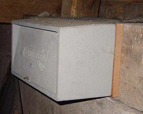 Schwegler Naturschutzprodukt Mauersegler-Beobachtungskasten Nr. 15 mit Grundkasten und Nistmulde Nistkasten Nisthöhle