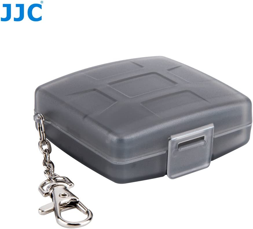 JJC MC-NSMSD24 Rigid Card Storage Case Black