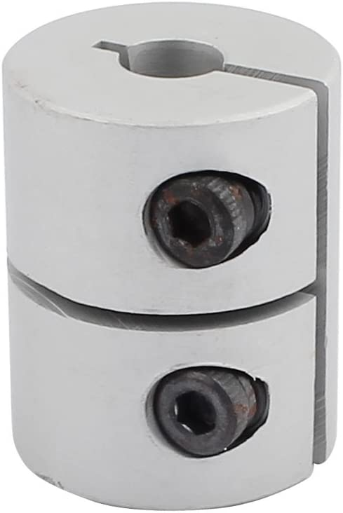 uxcell 4mm Regular store to 6mm Shaft Coupling 20mm Large-scale sale Length Diameter 25mm Coupl