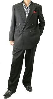 [UNITED GOLD] ダブルスーツ メンズ パーティースーツ ドレススーツ ゆったりシルエット ツータック 大きいサイズ 118871 4.5.9.10.11