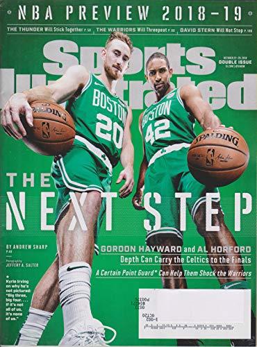 Sports Illustrated October 22-29, 2018 Boston Celtics Gordon Hayward and Al Horford - The Next Step