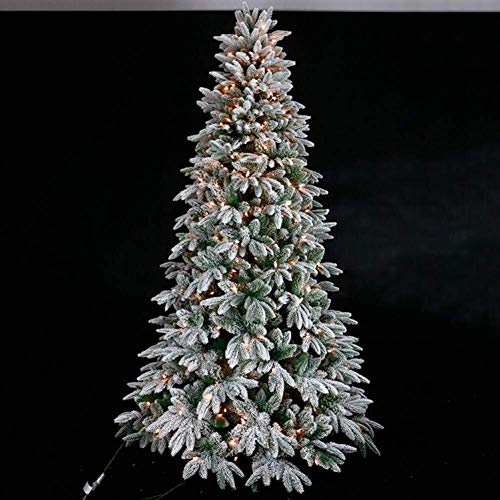 Cheapest Price! LAOHAO Christmas Tree Flocking 1.2M-3.0M Luminous Christmas Trees and Holiday Decora...