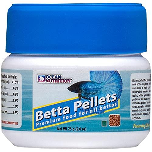 Ocean Nutrition Betta Pellets 2.65-Ounces (75 Grams) Jar