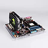 PC Open Frame Test Bench Mini ITX Motherboard Overlock Computer Case DIY Mod Base Transparent Acrylic Stand
