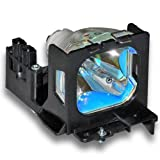 Alda PQ-Premium, Beamerlampe / Ersatzlampe für Toshiba TLP-620 Projektoren, Lampe mit Gehäuse