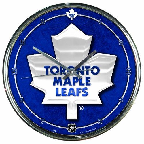 NHL Wanduhr, Chrom, Toronto Maple Leafs, Einheitsgröße