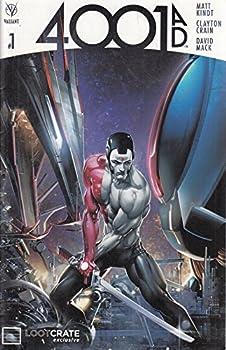 Comic 4001 AD #1 1:100 B&W Sook Variant Book