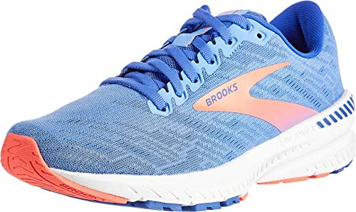 Brooks Women's Ravenna 11, Blue/Coral, 9.5 B (M)