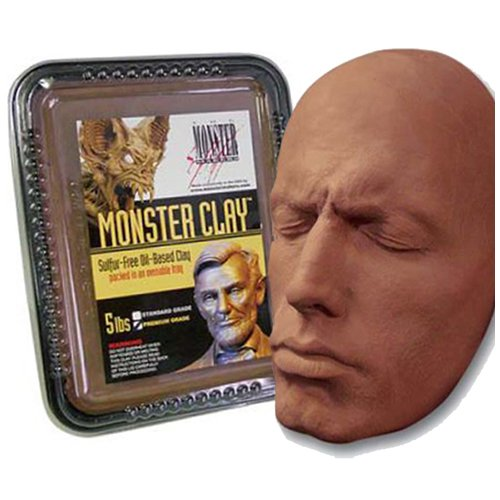 Monster Clay Premium Grade Modeling Clay (20lb Case)