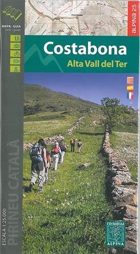 Mapa excursionista - Costabona.
