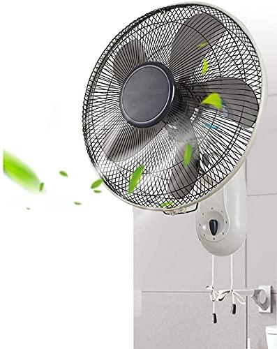 TAIDENG Ventilador de Pared Montado en Pared Ventilador de refrigeración Circulación de Aire Room Silent Room para Oficina (Color : 12inch, Size : 16inch)