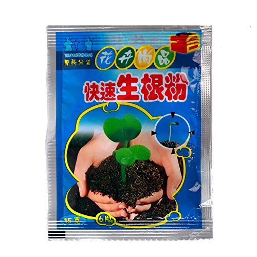 Apofly 1PC Raíz Grow Feryilizer Fungicidas Insecticidas Pesticidas Polvo de enraizamiento suculento de Fertilizantes Polvo de enraizamiento, Bonsái de Fertilizantes,