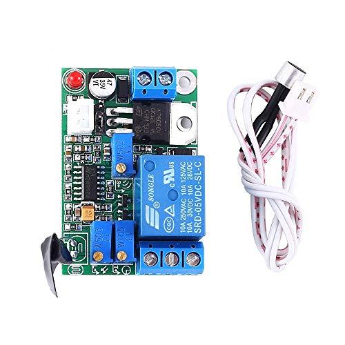 Sonido Sensor Módulo, 12 V / 24 V Relé Retardo Micrófono Interruptor Módulo Controlador Sensor Módulo