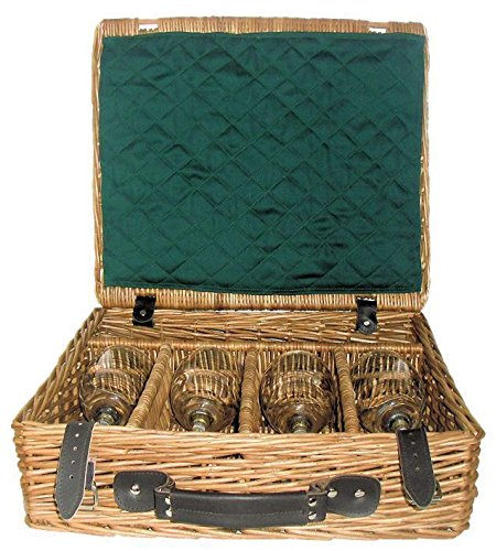 Red Hamper Fine Wine Presentation Drinks Basket