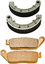 Front and Rear Brake Pads Shoes for Honda VT 1100 C Shadow Spirit 1997-2007