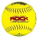 X-Rock 1 Dozen ASA 12' Softballs 52 COR 300 Compression 12 Balls ASA-RP-Y