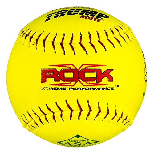 "X-Rock Half Dozen ASA 12"" Softballs 52 COR 300 Compression"