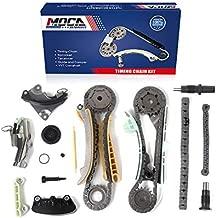 MOCA Timing Chain Kit for 05-10 Ford Mustang & 97-10 Ford Explorer & 98-10 Mercury Mountaineer & 01-08 Mazda B4000 4.0L V6 SOHC 12 Valve