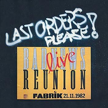 Last Orders Please (Live)