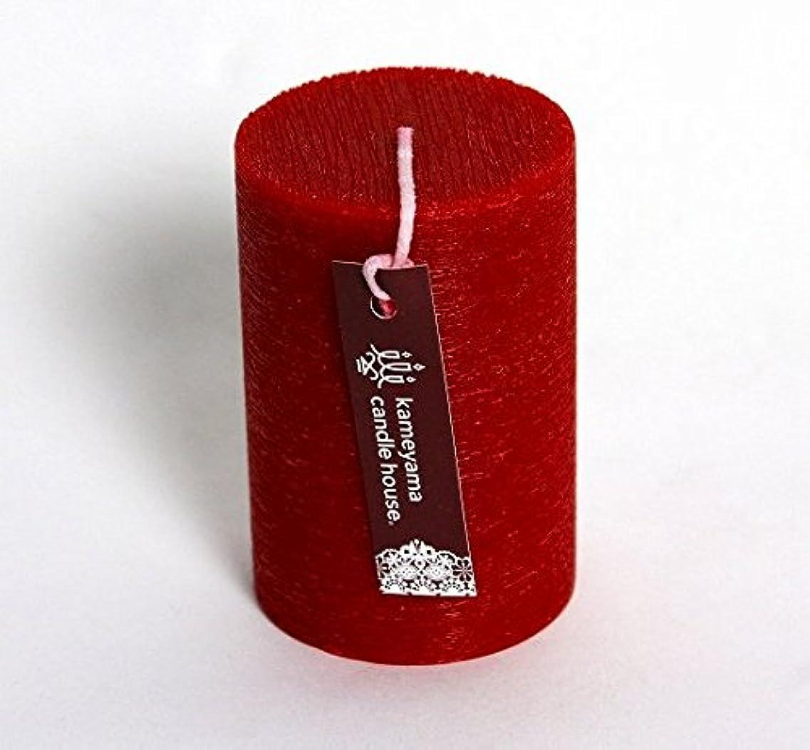 弱めるさせる立派なkameyama candle(カメヤマキャンドル) ブラッシュピラー2×3 「 レッド 」(A8310000R)