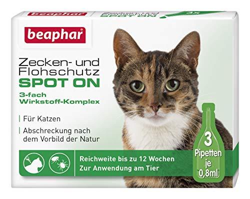 Beaphar Zecche- e pulci protezione Spot-On 3 x 0.8 ml