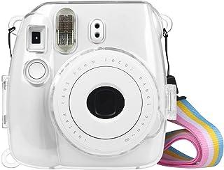 Fintie Tasche für Fujifilm Instax Mini 9 Mini 8 Mini 8+ Sofortbildkamera - Ultradünne PVC Hartschale Schutzhülle Reise Kam...