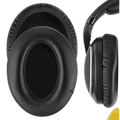 Geekria almohadillas de repuesto para auriculares HD598, HD598SE, HD598CS,HD598SR,HD555,HD595, HD518,almohadillas para oreja/cobertor de oído/almohadillas para orejas de reparación(piel de proteína)