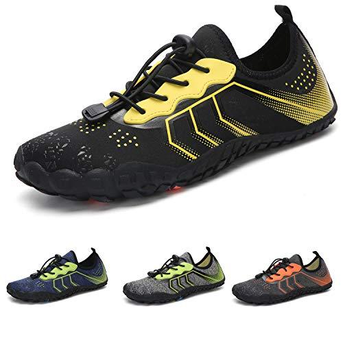 Barefoot Zapatillas de Trail Running Minimalistas Zapatillas de Deporte Exterior Interior Zapatos de Deportes Acuaticos,Unisex-Adulto