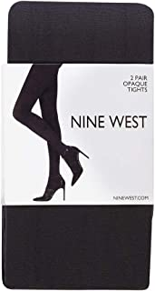 Nine West Tights for Women, 40 Denier, Size Small-Medium, 2 Pack