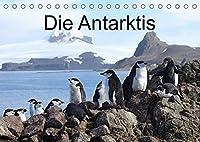 Die Antarktis / CH-Version (Tischkalender 2022 DIN A5 quer): Eisberge und Tiere in der Antarktis (Monatskalender, 14 Seiten )