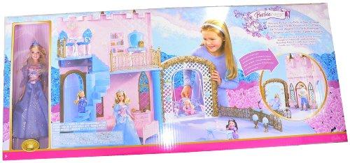 Mattel K8062 - BARBIE 2-in-1 - Königliches Schloss inkl. BARBIE Puppe als Dornröschen