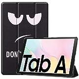 Fine Finet Coque pour Samsung Galaxy Tab A7 10.4' 2020 (T500/T505/T507), Ultra Mince Étui à Trois...