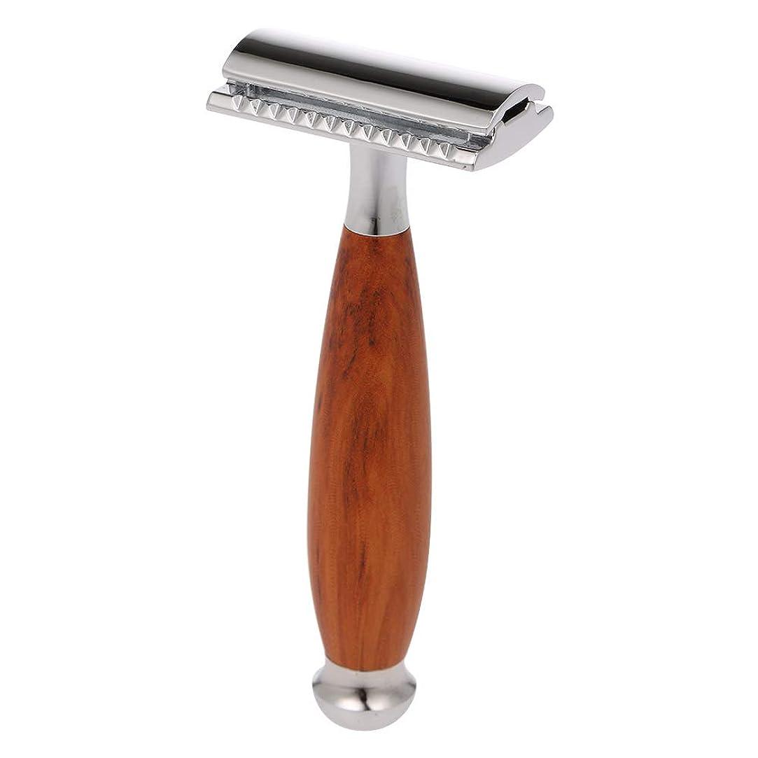 あなたのもの暗くする宿るDecdeal かみそり 安全 剃刀 両刃 手動 シェービングツール 髭剃り 本体