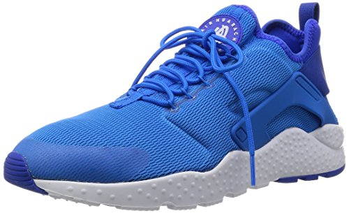 Nike Damen W Air Huarache Run Ultra Fitnessschuhe, Blau (Photo Blue/Weiß), 39 EU