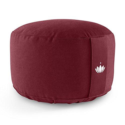 cuscino da meditazione Lotuscraftss Cuscino da Meditazione Lotus Alto (A: 20 cm) Cotone Bio