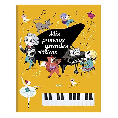 Libro piano. Mis primeros grandes Clásicos