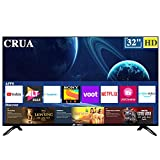 CRUA 164 cm (65 Inches) 4K Ultra HD Smart LED TV CJDS65L12 (Black) (2019 Model)