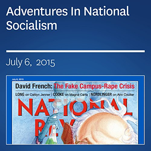 Adventures In National Socialism audiobook cover art
