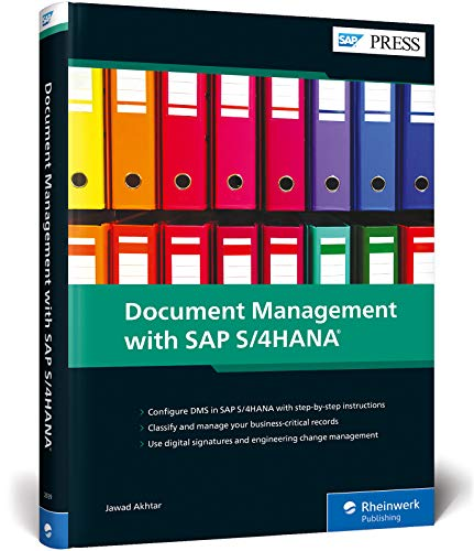 Compare Textbook Prices for Document Management DMS with SAP S/4HANA SAP PRESS First Edition ISBN 9781493220397 by Jawad Akhtar