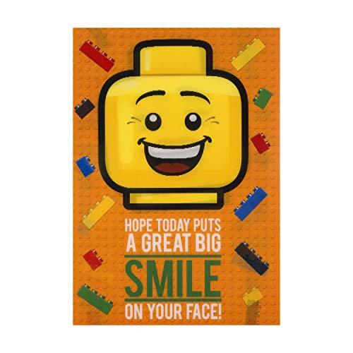 Hallmark Geburtstagskarte für Kinder, Motiv Lego – Lentikular 'Moving'