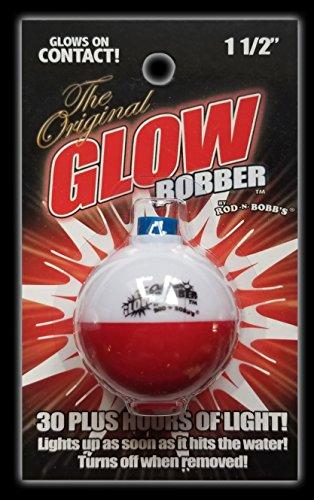 Rod-N-Bobb s Original Glow Bobber, 1-1 4-Inch