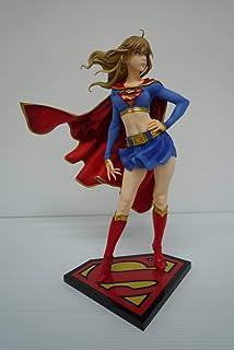 開封品DC COMICS美少女 スーパーガール リターンズ 「DCコミックス」 1/7 PVC製塗装済み完成品首にシミ、箱傷み擦れシワ有
