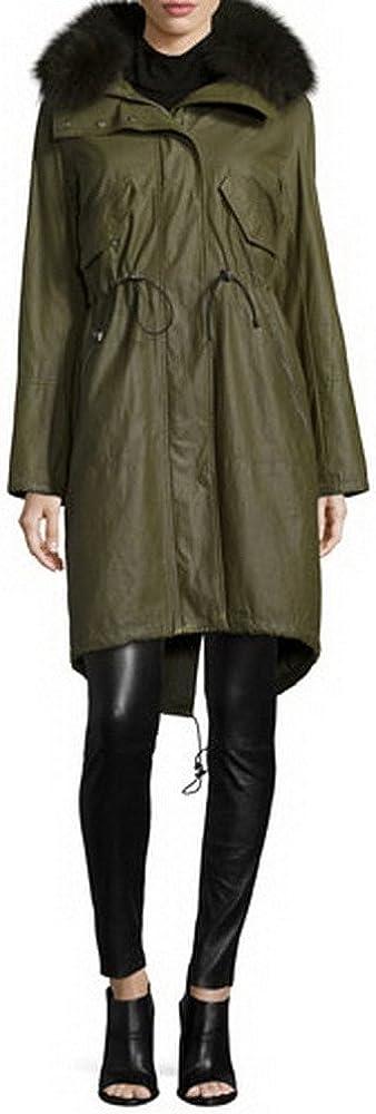 Angel&Lily Hooded Collar Zip Cuffs Faux Fur Coat Plus 1x-10x